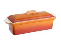 Vogue Terrinenform Gusseisen orange 1,3L