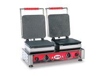 Gaufrier Gelato 23x23 - plaques de cuisson doubles et interchangeables