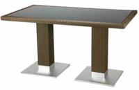 Table de terrasse Largo 140 x 80 Castana