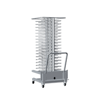 Chariot de transport de grilles de four mobiles UNOX pour plats XCP 4001