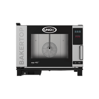 UNOX Bäckereiofen Bakertop Mindmaps 4 x EN 60x40 ONE Elektro inkl. Aufstellpauschale
