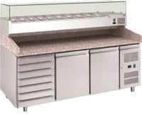Pizzatisch PT 1310 mit Kühlaufsatz