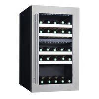 Weinkühlschrank ECO 38 mit 2 Temperaturzonen
