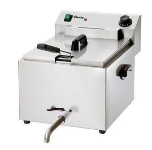 Bartscher Elektrofritteuse PROFI 9,7 Liter mit Fettablasshahn