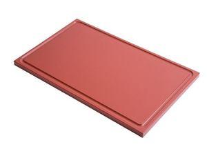 6 planches à découper avec rainure de jus Gastro-M GN 1/1, différentes couleurs