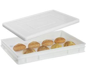Stülpdeckel für Pizzaballenbehälter