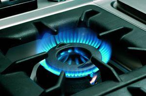 Cuisinière à gaz Bartscher 700 Classic à 2 feux avec soubassement ouvert