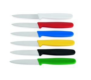 Profi Küchenmesser mit farbigem Griff-HACCP-, Klinge 8cm, Farbe: gelb