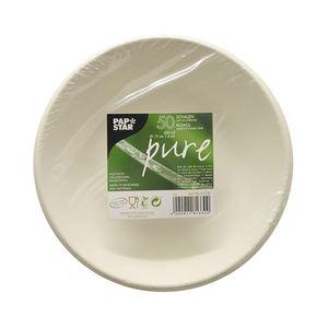 Papstar  Pure  Schale L ; Zuckerrohr - 50 Stück - 680 ml