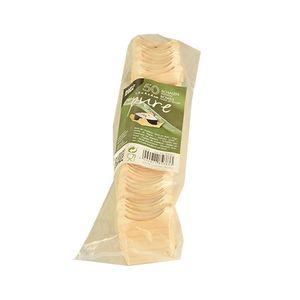 Papstar  Pure  Fingerfood-Schale - S; eckig; Holz - 50 Stück
