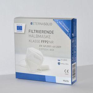 Eternasolid Mundschutz-Atemschutzmaske FFP2 - CE zertifiziert