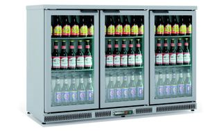 Barkühlschrank Profi 305 Liter Edelstahl