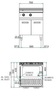 Elektro-Nudelkocher Dexion Serie 77 - 70/70