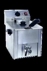 Elektro-Fritteuse ECO 10 Liter mit Ablasshahn