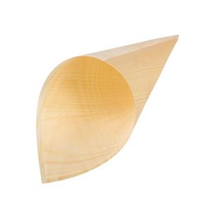 Fiesta Green Pappelholz-Serviertüte Simple - 170x75mm