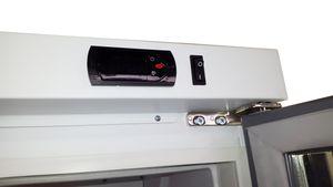 Getränkekühlschrank Profi 400 weiß mit Leuchtaufsatz
