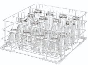 Bartscher Gläserkorb 400x400 4-teilig