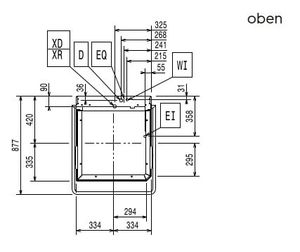 Electrolux Haubenspülmaschine green&clean EHT8G 400 V