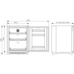 Dometic Medikamentenkühlschrank HC 302 nach DIN 58345