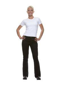 Damenhose Tina, schwarz, Größe: 54