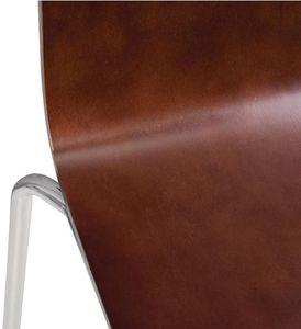 Bolero Esszimmerstühle Buchenfurnier dunkelbraun ( 4 Stück)