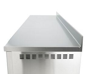 Bäckereikühltisch Premium 3/0 mit Aufkantung