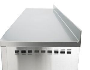 Kühltisch Profi 3/0 mit Aufkantung - GN 1/1