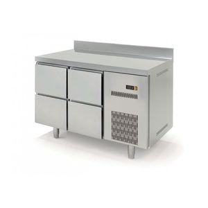 Kühltisch Profi 600 0/4 mit Aufkantung