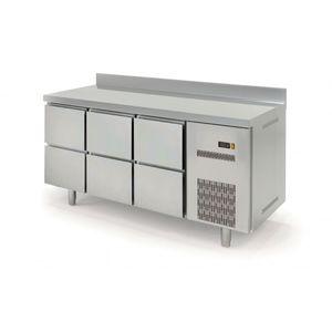 Kühltisch Profi 600 0/6 mit Aufkantung
