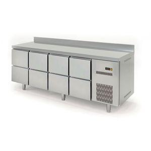 Kühltisch Profi 600 0/8 mit Aufkantung