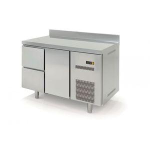 Kühltisch Profi 600 1/2 mit Aufkantung
