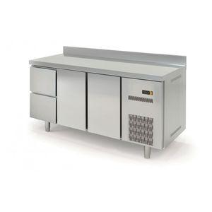 Kühltisch Profi 600 2/2 mit Aufkantung