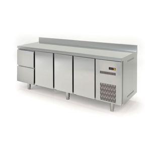 Kühltisch Profi 600 3/2 mit Aufkantung