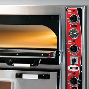 Pizzaofen Classic 9 + 9x30cm mit Thermometer