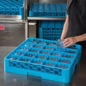 Gläserkorb ECO 500x500 25 Fächer