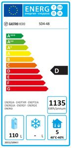 Coreco Kühltisch US Range 1200 - 0/4