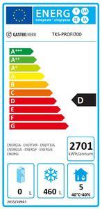 Tiefkühlschrank Profi 700 GN 2/1