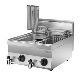 Bartscher Elektro-Fritteuse 650 Snack 2x10L - Tischgerät