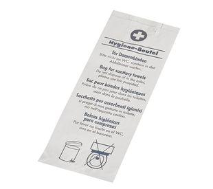 "Papstar 200 Hygienebeutel 28 cm x 11 cm x 5,5 cm weiss ""bedruckt"""