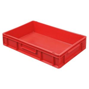 Euro-Stapelbehälter 600x400 mm, rot -  120 mm