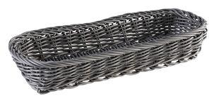 APS Besteckkorb -ECONOMIC- Horizontal, anthrazit, 27 x 10 cm, H: 4,5 cm