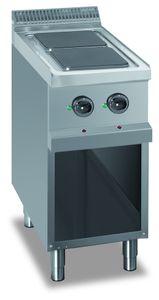 Fourneau électrique Dexion série 77 - 40/70 avec plans de cuisson carrés