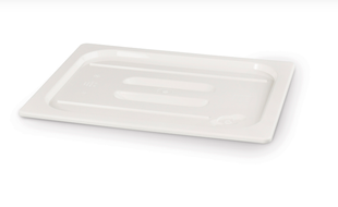 GN Deckel Polycarbonat Weiß - GN1/3
