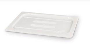 GN Deckel Polycarbonat Weiß - GN1/6