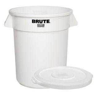 Rubbermaid Vorratscontainer 38 Liter weiß inklusive Deckel