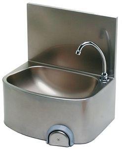 Handwaschbecken mit Aufkantung 480 x 360 x 520 mm