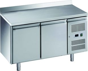 Kühltisch ECO 2/0 mit Aufkantung - GN 1/1