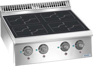 Cuisinière à induction Dexion série Lux 700 - 70/73 - à poser sur table