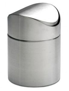 Poubelle de table à couvercle battant, dimensions 9,5x13cm