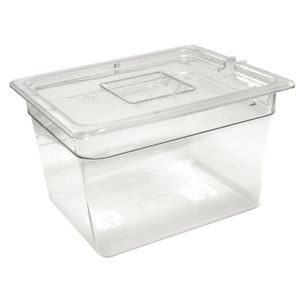 Vogue GN-Behälter 1/2 Polycarbonat - Tiefe 150 mm
